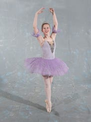 Sugar Plum Fairy Becky Maupin will perform during the