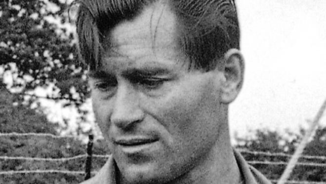 "FILE - In this Aug. 5, 1966 file photo, actor Clint Walker appears on the set of ""The Dirty Dozen"" in Morkyate, Bedfordshire, England. Walker, who played the title character in the early TV western ""Cheyenne,"" died Monday, May 21, 2018, of congestive heart failure at a hospital in Grass Valley, Calif. He was 91."