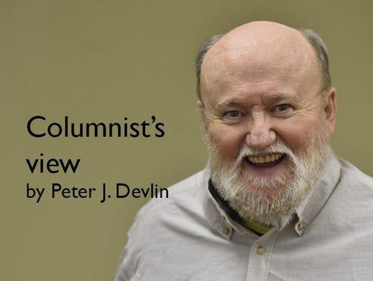 Peter J. Devlin, Door County Advocate columnist