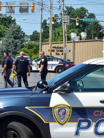 Police are investigating a shooting that occurred around