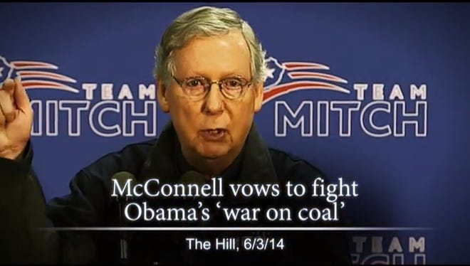 """Sen. Mitch McConnell's """"Different Direction"""" ad."""