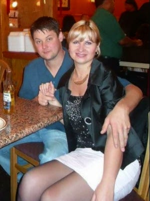 Joseph Connell and his wife Olga are shown in an undated photo. A trial is underway for two men accused of killing the couple.