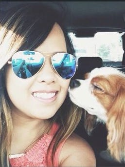 Family members identified the patient as 24-year-old Nina Pham.