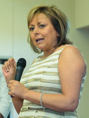 Gov. Susana Martinez's administration in 2013 froze