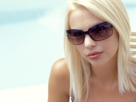 Sunglasses that block 100% of UVA and UVB waves are your best defense against sun damage.