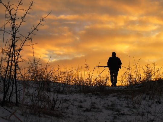 Follow hunting safety rules to prevent accidents in the woods.