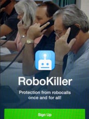 RoboKiller is an app developed by Ethen Garr and Bryan Moyles to stop robocalls.