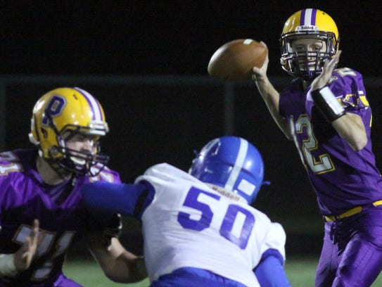 Pittsville will need another big game from quarterback Luke Denniston, who passed for 262 yards and three touchdowns in a 34-27 win over Assumption last week, when the Panthers meet Edgar in a Division 7 playoff matchup Friday night.