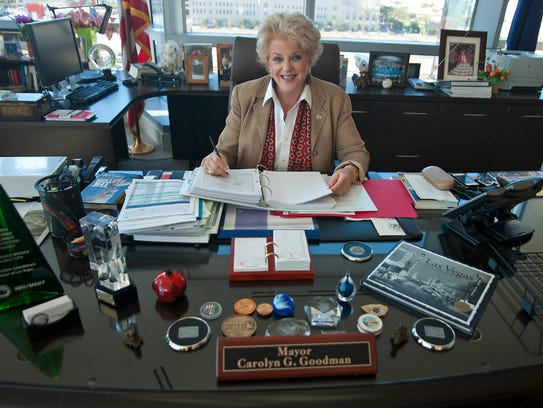 Las Vegas Mayor Carolyn Goodman supports public funding