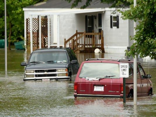Greenbriar Village flooding