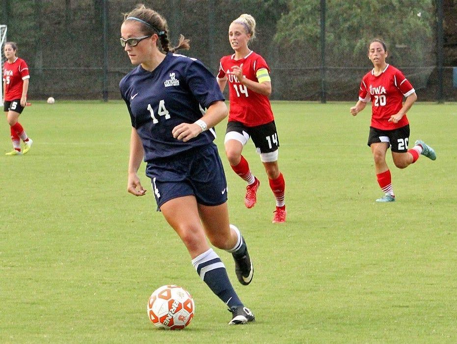 Enka alum Nicole Corcione now attends college at Columbus State (Ga.).