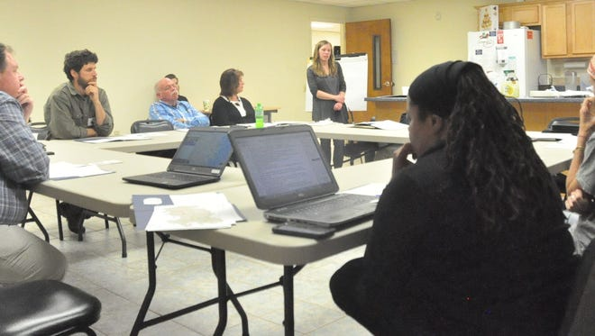 Residents and county officials gathered at an energy forum sponsored by regional nonprofit Appalachian Voices.