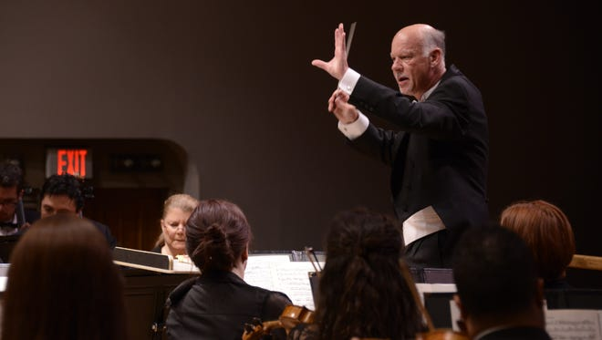 LCSO conductor Lonnie Klein works to expose as many people as possible to orchestral music, especially youngsters.