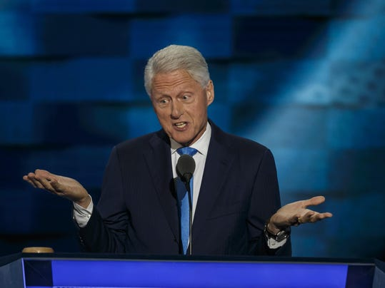An aide says he once arranged for $50 million in payments for Bill Clinton