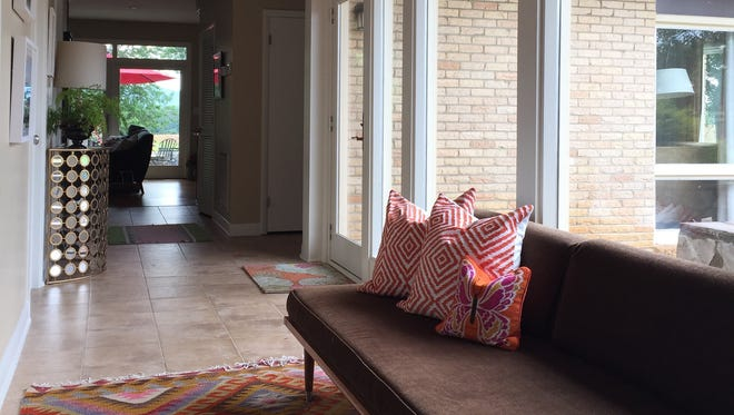 Gates Interior Design owner Amanda Gates adds a splash of pink to her clients' homes. The company was named Best Interior Decorator in the 2015 Toast of Music City Awards.