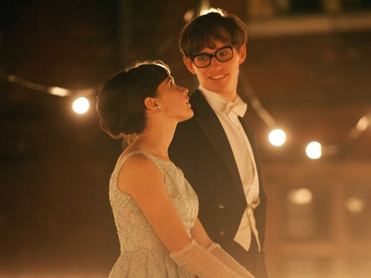 Liam Daniel, Focus FeaturesEddie Redmayne, with Felicity Jones, looks Oscar-bound.