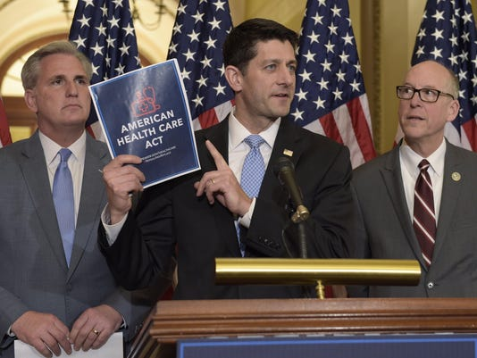 Paul Ryan, Greg Walden, Kevin McCarthy