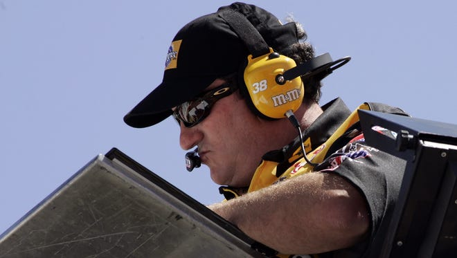 Crew chief Todd Parrott, shown here in 2006, was reinstated by NASCAR after completing its Road to Recovery program.