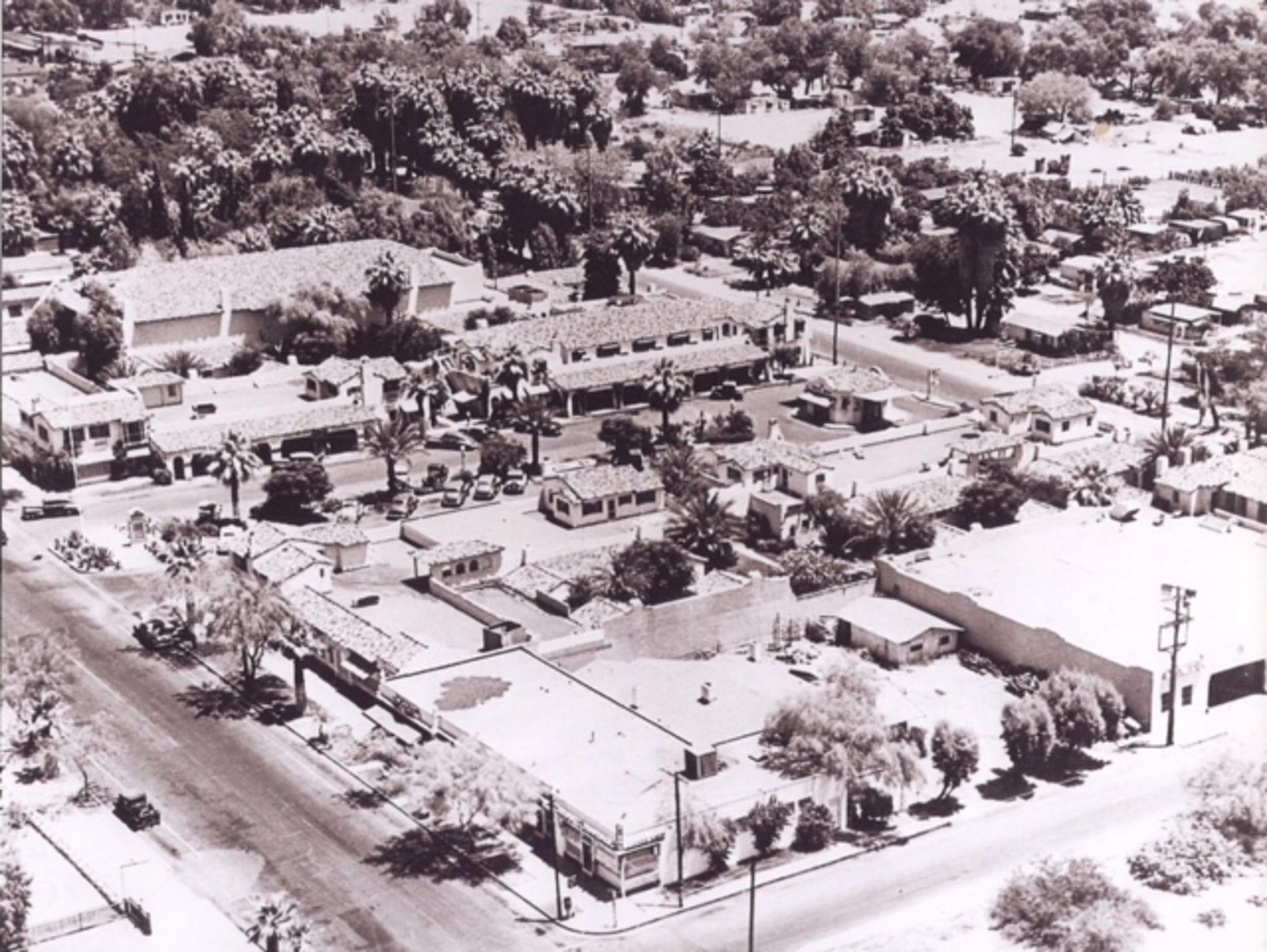 La Plaza, a downtown Palm Springs commercial district