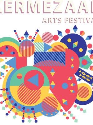 The poster image for the 2016 Kermezaar Arts Festival.