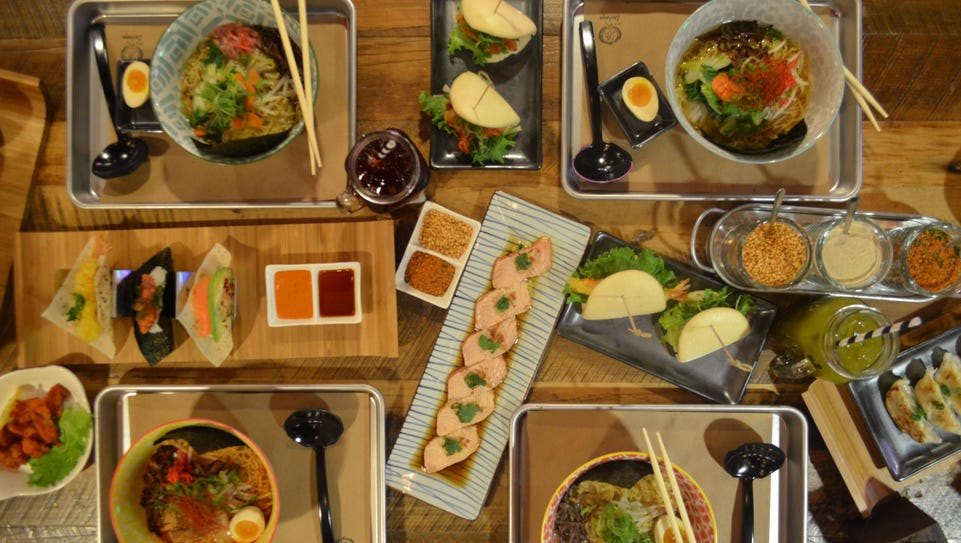 Genji Izakaya specializes in ramen and sushi tacos,