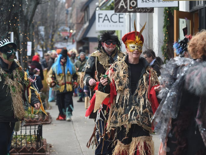 Scenes from the 2016 Sinterklaas Day in Rhinebeck.