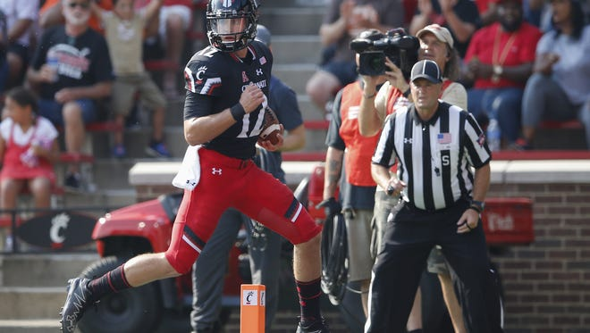Cincinnati Bearcats quarterback Ross Trail is looking to leave the school.