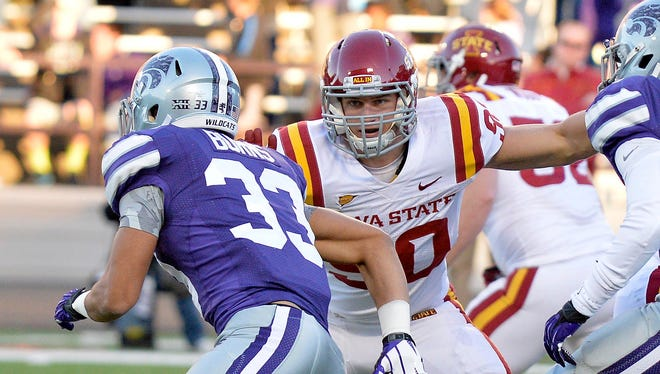 Iowa State's Mitchell Meyers finished his chemotherapy treatments on July 24.