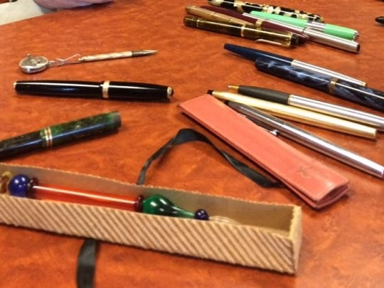 Vintage fountain pens have value, especially for pen