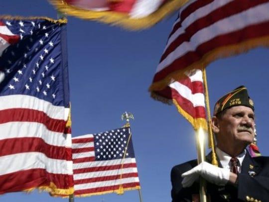 This weekend, celebrate a veteran.