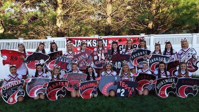 The Jackson Memorial High School Cheer organization is hosting a gift auction fundraiser Saturday, Nov. 15 beginning at 5 p.m. at the AMVETS post on Toms River Road in Jackson.
