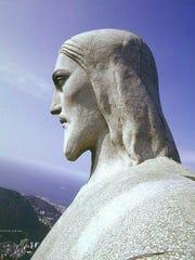 Christ the Redeemer, an Art Deco statue of Jesus Christ, stands in Rio de Janeiro.