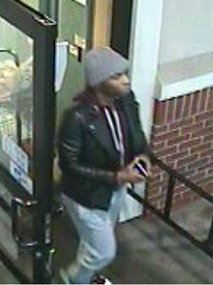 Police are seeking this man as a suspect in a Jan. 18 pickpocket incident at Wegmans in Cherry Hill.