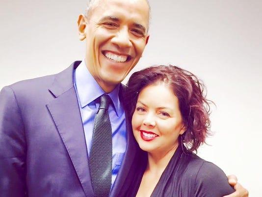 president obama and barbara deyo
