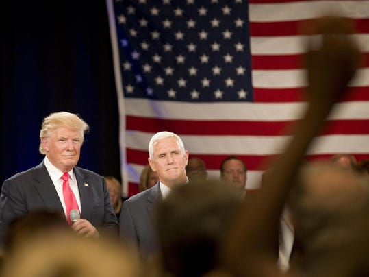 Pence campaign trail