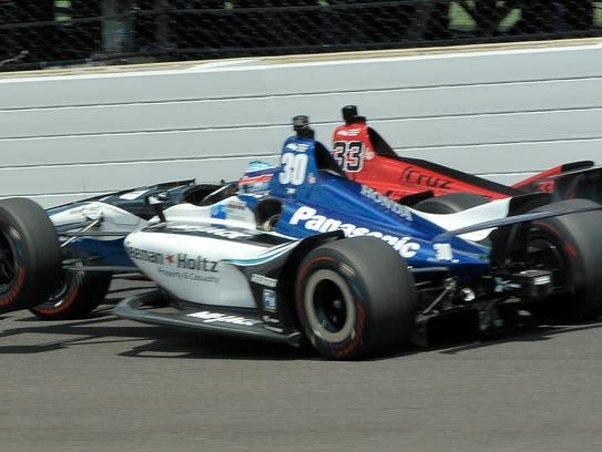 Rahal Letterman Lanigan Racing IndyCar driver Takuma