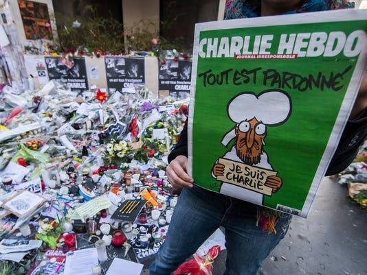 EPA FRANCE PARIS TERROR ATTACKS CHARLIE HEBDO EDITION WAR ACTS OF TERROR FRA