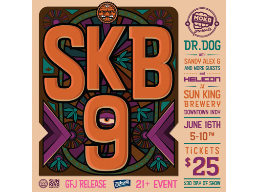Win a pair of tickets to the anniversary concert featuring Dr. Dog on 6/16. Enter 5/17-6/10.