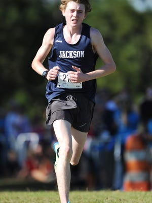 Curt Knight of Jackson Academy claimed the 2012 Academy AAA boys championship in 16:30.97 for 5,000 meters on Monday.