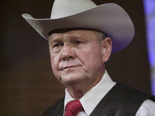 Alabama Republican candidate for the Senate Roy Moore is accused of sexual misconduct with underage girls. Associated Press Roy Moore
