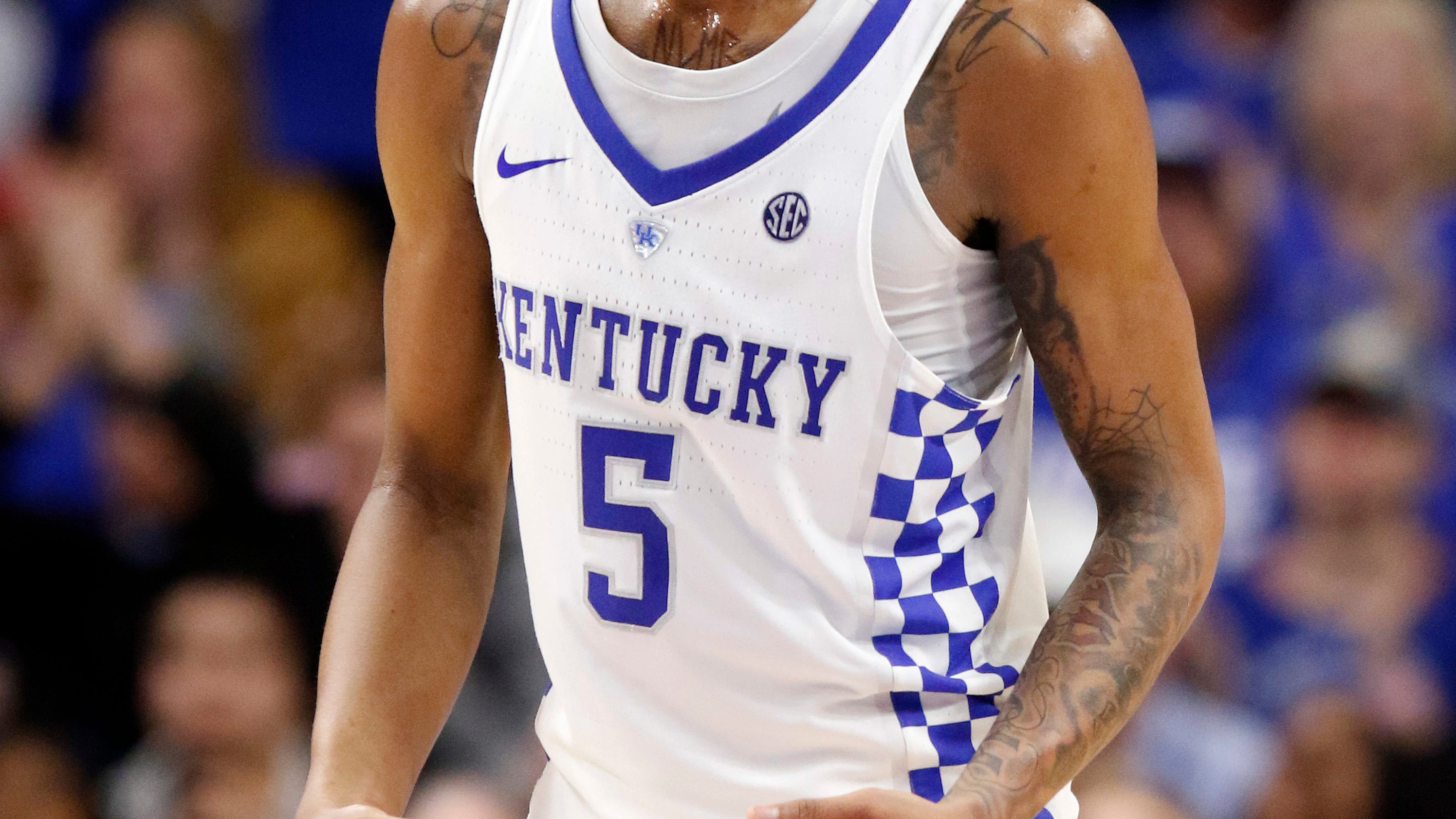 Uk Basketball: Kentucky's Monk Picked As AP's SEC Player, Newcomer Of Year