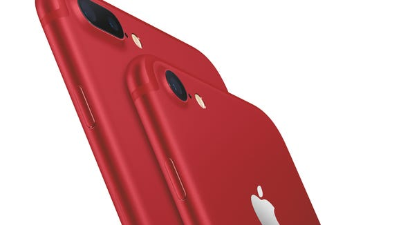 Apple introduced the (Product) Red iPhone 7.