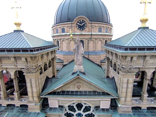The Basilica of St. Josaphat, a historic landmark and