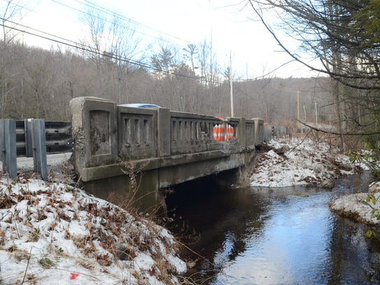 Bridge 447 on Warwick Turnpike is going to be replaced