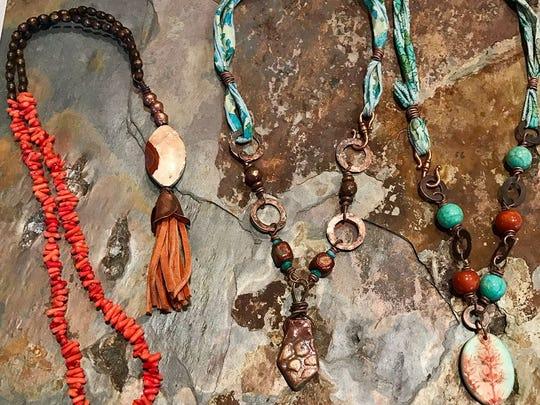 Niki Black creates Bohemian-inspired jewelry.