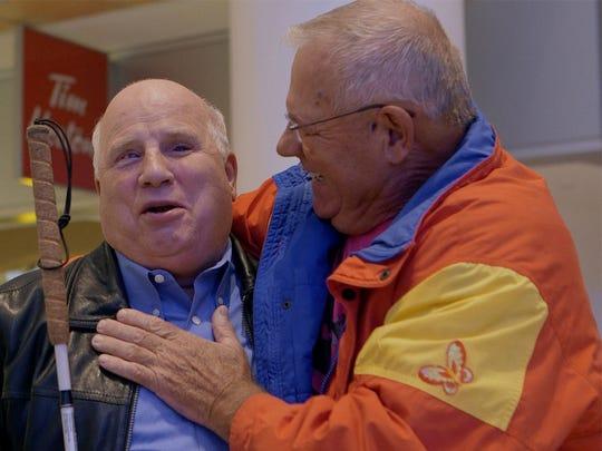 Brothers Shep Shell (left) and Izak Szewelewicz are