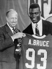 From Gibbs Village to the NFL, Aundray Bruce was the