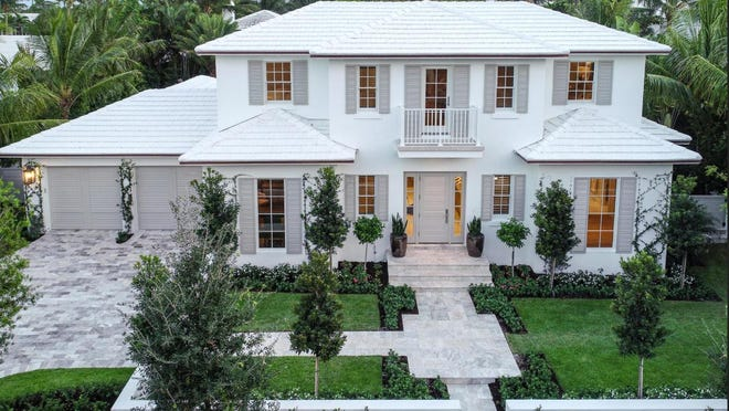 The only MLS-listed house to land under contract in Palm Beach over the past two weeks was this one, developed on speculation at 266 Fairview Road and priced at just under $7 million.