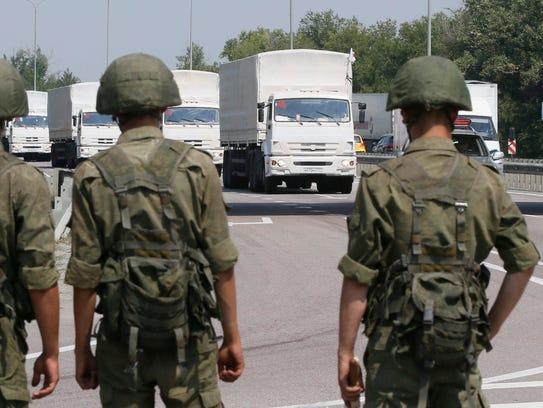 Russian convoy