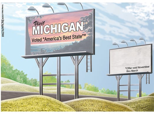 For what it's worth, a website ranked Michigan as the